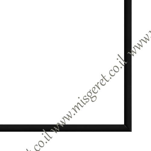 מסגרות בצבע שחור, מק''ט 124