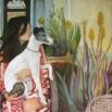 אישה עם כלב