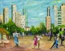 רוקדים בככר העיר-בחברו