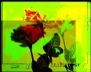 ורדים עם ירוק