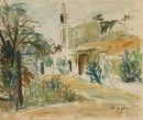 נוף ביפו ומסגד