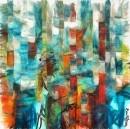 מבוך צבעוני של עיר