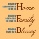 Home Family Blessing