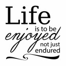 life enjoyed
