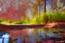 השתקפות צבעונית