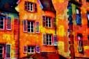 חלונות בצבע