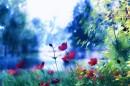 בגובה הפרחים