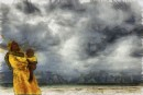 אישה בסערה