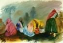 נשים בגשם
