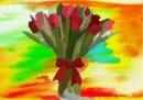 צבעונים בצבע