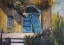 הדלת בטורקיז