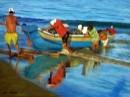 דייגים בעבודה