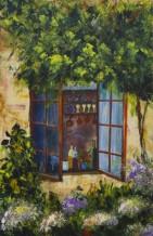 תמונה של החלון לגינה | תמונות