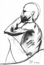 תמונה של גבר יושב | תמונות