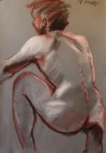 תמונה של גבר עירום מן הגב | תמונות