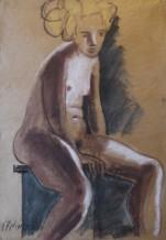 תמונה של אישה יושבת | תמונות