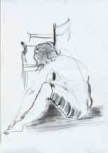 תמונה של רקדנית במנוחה | תמונות