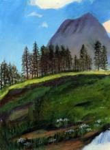תמונה של נוף הרים   תמונות