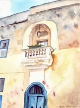 תמונה של חזית בית מסורתית | תמונות