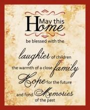 תמונה של May This Home Blessed   תמונות