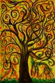 עץ מסולסל