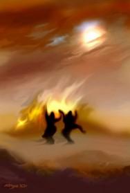 אש ושני ליצנים