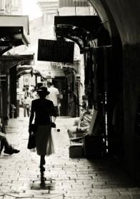 הליכה בעיר העתיקה