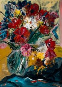 פרחים מפוזרים