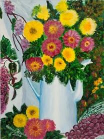 פרחים בקומקום