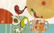 תמונה של Two birds and cups | תמונות