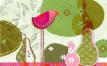 תמונה של birds and pears | תמונות