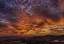 תמונה של שקיעה במדבר | תמונות