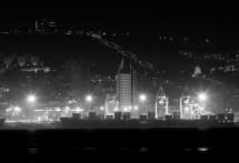 תמונה של נמל חיפה והעיר התחתית | תמונות