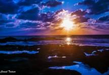 תמונה של שקיעה בכחול | תמונות