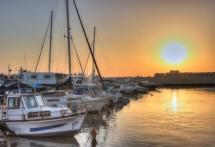 תמונה של שקיעה בנמל יפו | תמונות