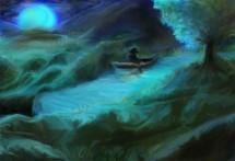 תמונה של דיג ירח כחול | תמונות