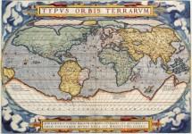 תמונה של מפה ישנה של העולם   תמונות