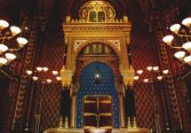 תמונה של בית הכנסת הספרדי בפראג   תמונות