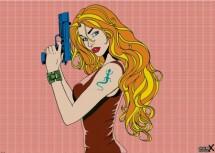 תמונה של Gun girl roy   תמונות