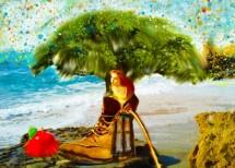 תמונה של אישה בתוך נעל | תמונות