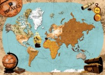 תמונה של Pirates map   תמונות