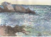 תמונה של סלעים בים | תמונות