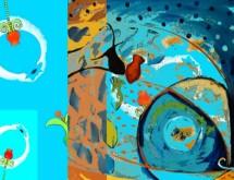 תמונה של דגים ורימונים   תמונות