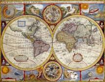 תמונה של מפת עולם עתיקה | תמונות