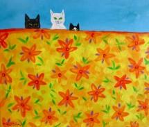 תמונה של שלושה חתולים | תמונות