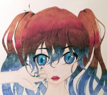 תמונה של נערה עם עיניים כחולות   תמונות