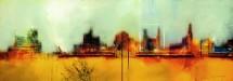 תמונה של עיר מוצפת אור | תמונות