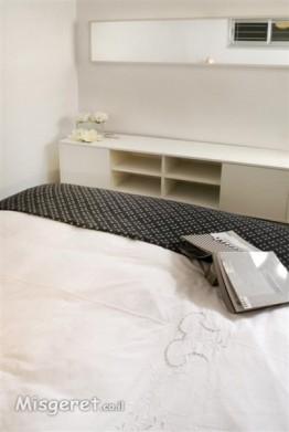 חדר שינה מינימאלי
