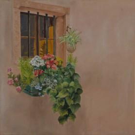 פרחים בחלון 1