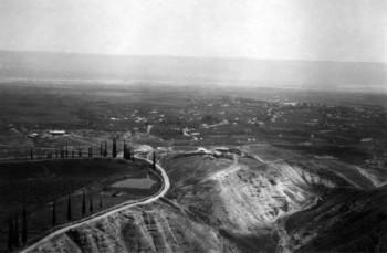 יריחו 1945 - מבט מלמעלה